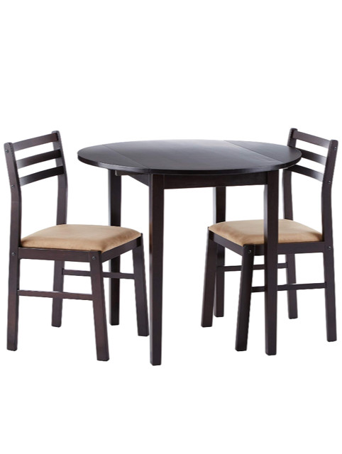 Coaster 3-Piece Drop Leaf Dining Set