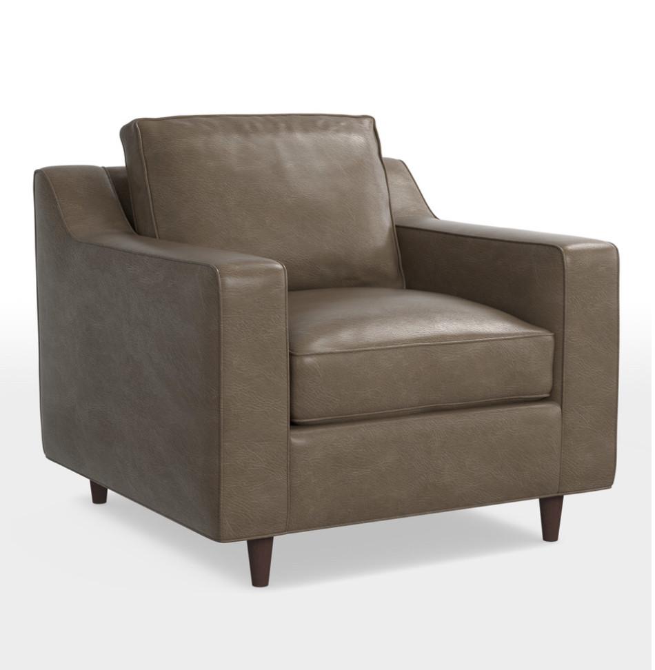 Rejuvenation Garrison Leather Chair