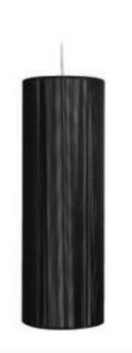 EQ3 Monaco Small Pendant Lamp w/ Black String Shade