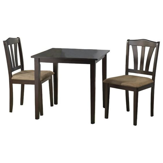 Alcott Hill Dinah 3 Piece Dining Set