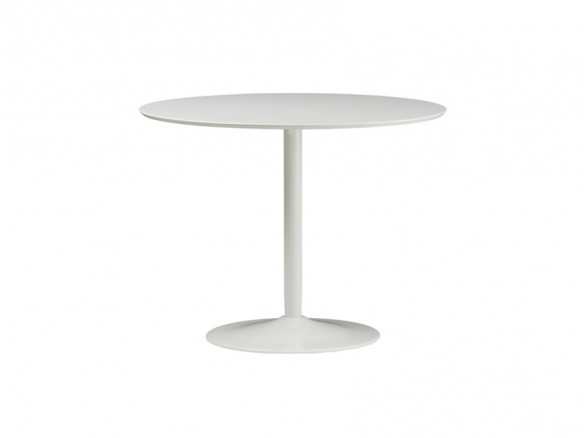 CB2 Round White Tulip Dining Table