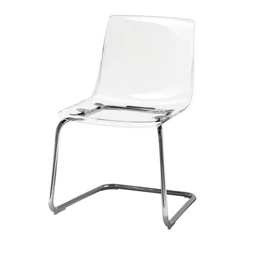 Ikea Clear Acrylic Chairs
