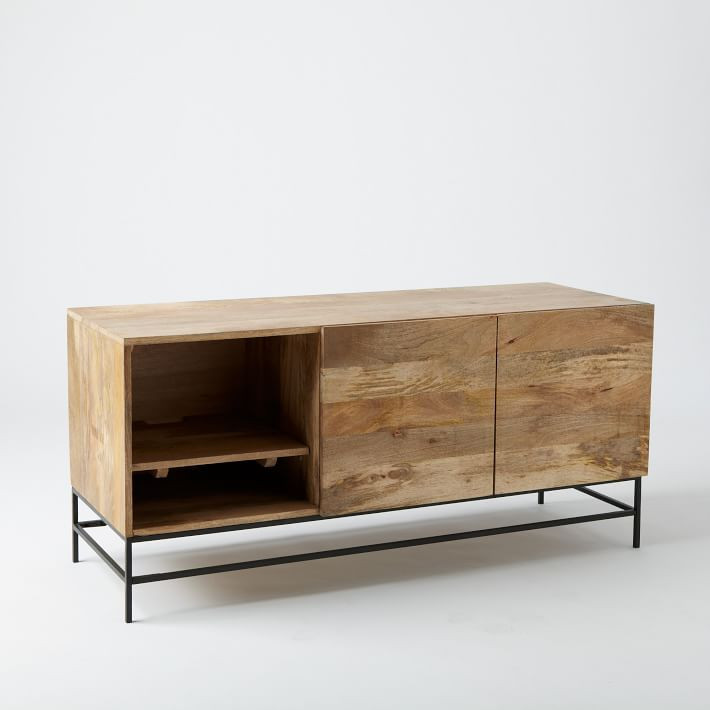 West Elm Rustic Storage Large Media Console