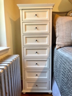 Pottery Barn White 7 Drawer Dresser