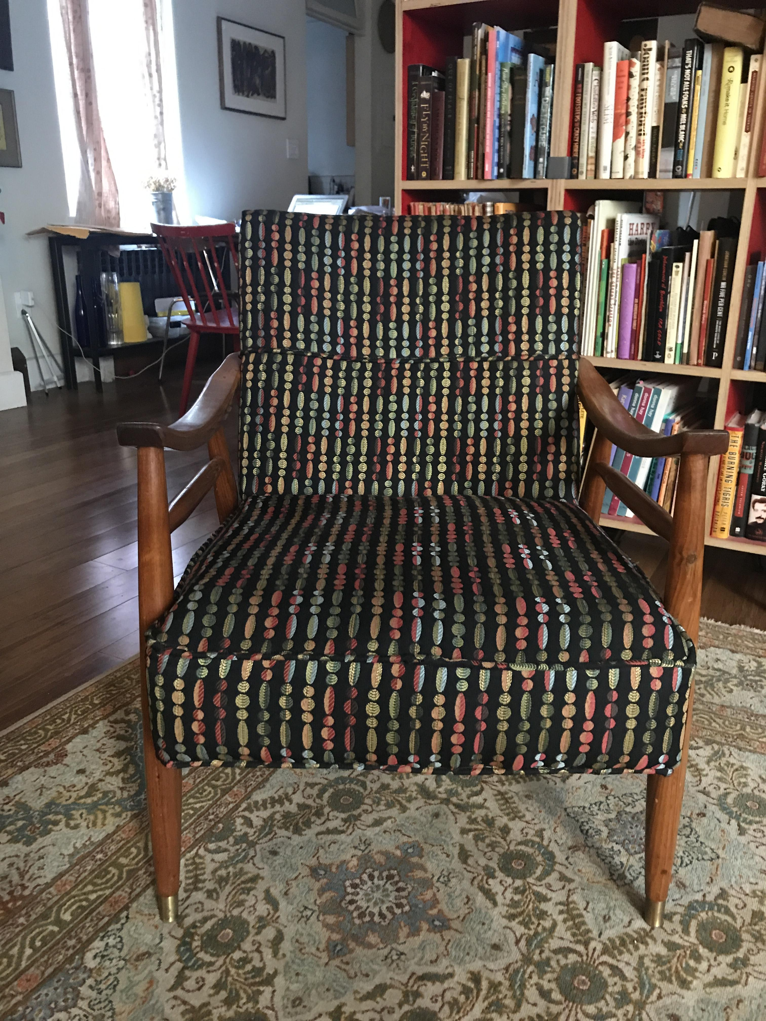 Mid Century Danish Modern Arm Chair
