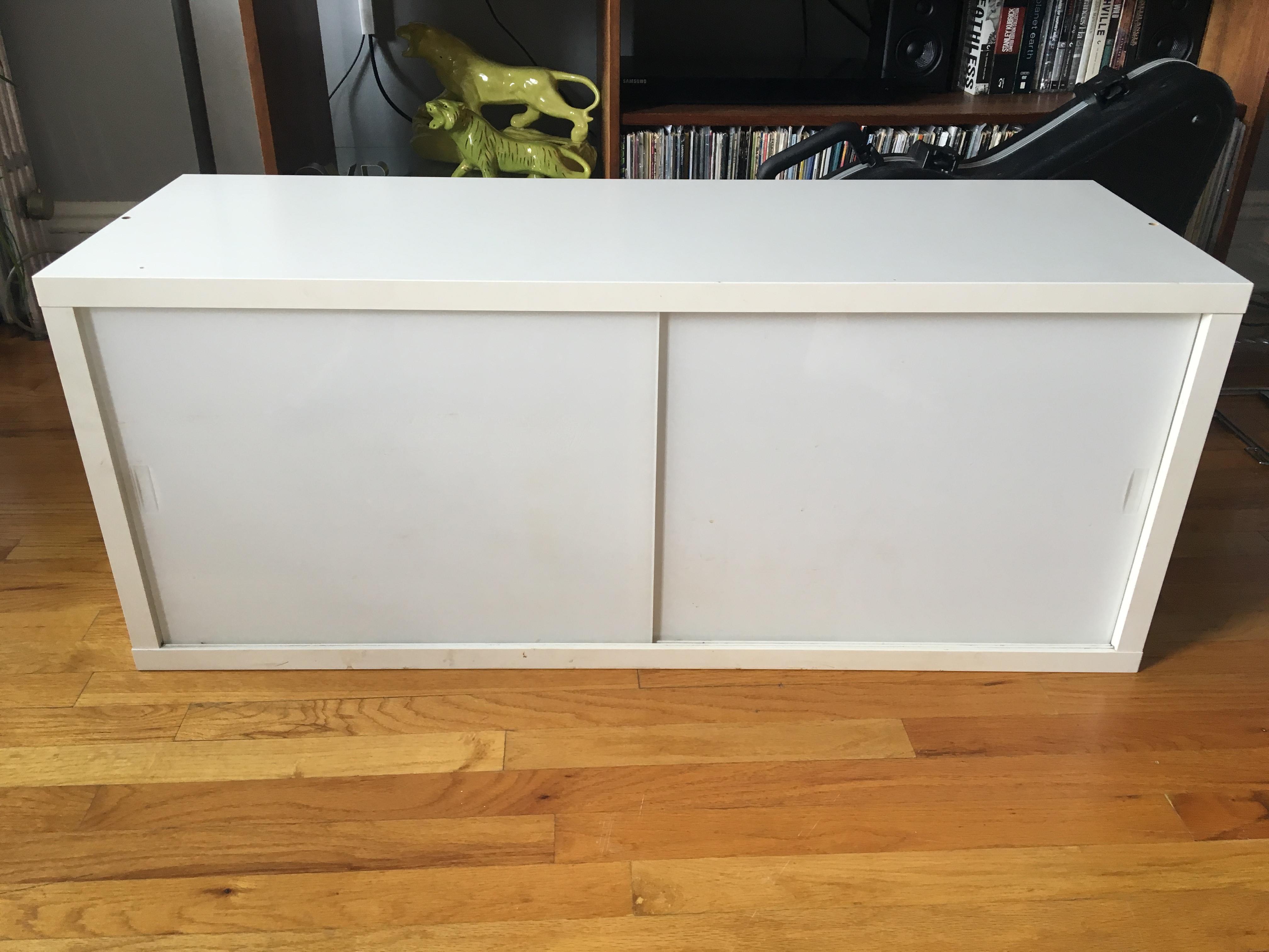 Ikea White Media Cabinet