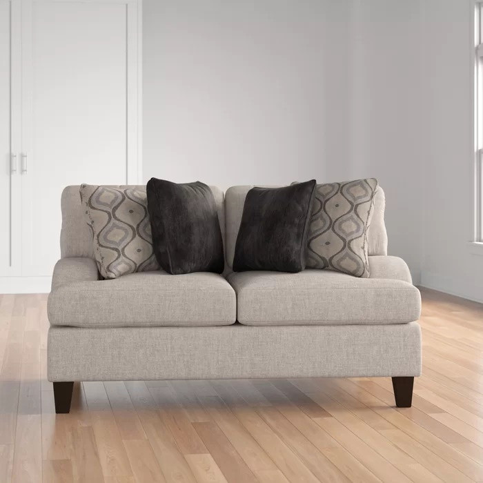 Three Posts Hattiesburg Sterling Loveseat
