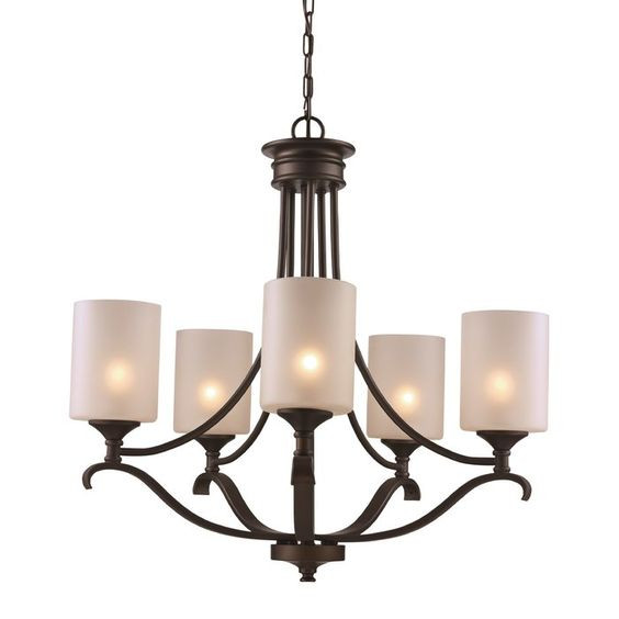 Andover Mills Suki 5-Light Shaded Chandelier