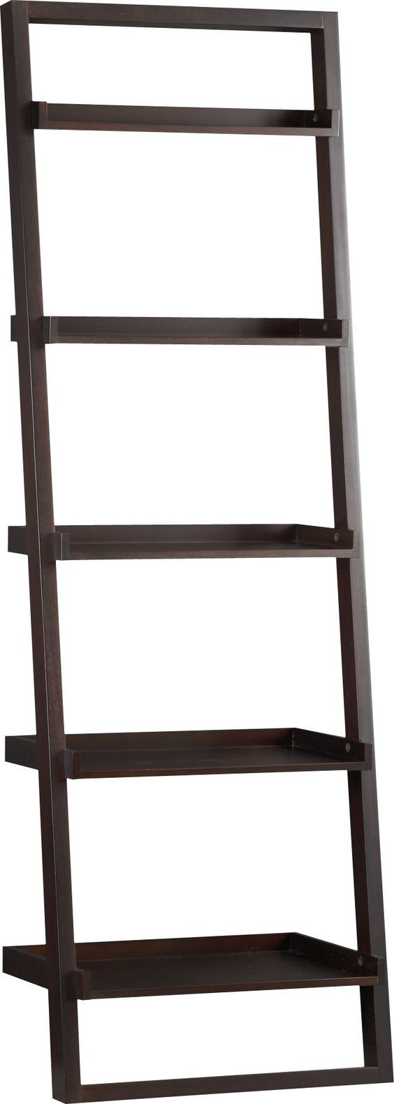Crate & Barrel Sloane Leaning Bookcases