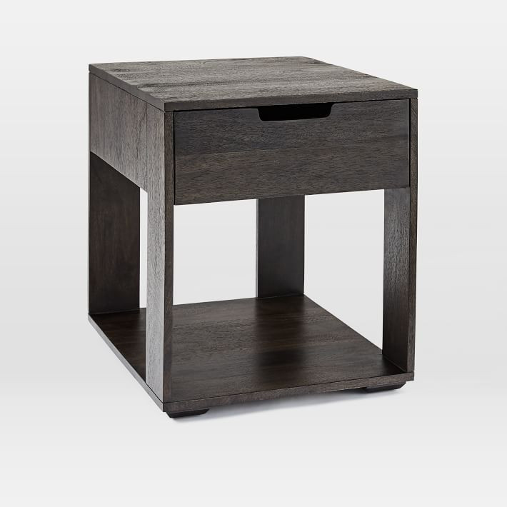 West Elm Pure Storage Side Table