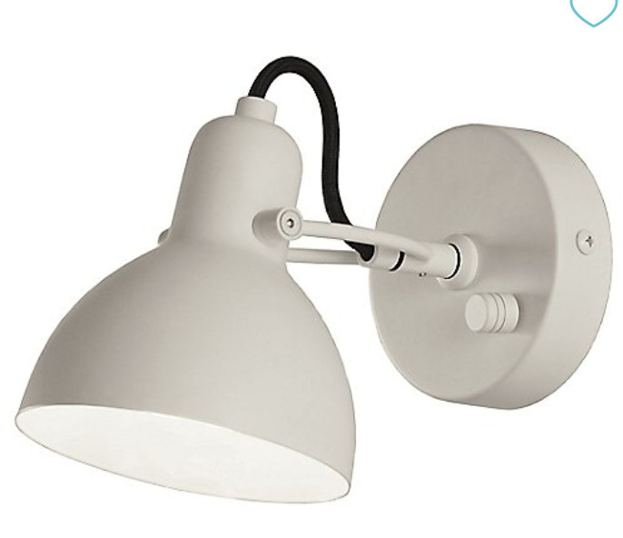 Seed Design Adjustable Matte White Sconces