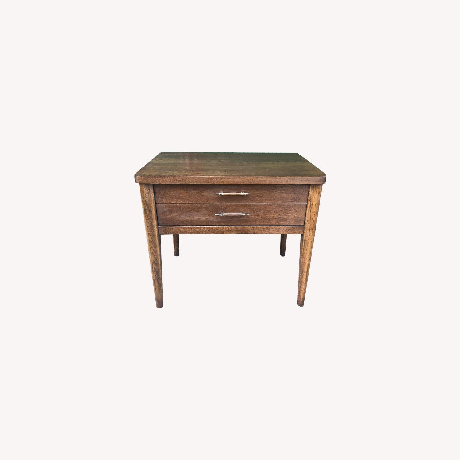 Broyhill Mid Century Modern Single Drawer End Table