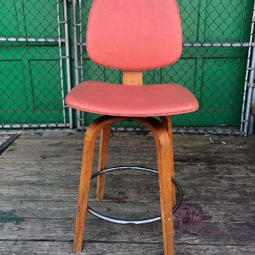 Thonet Mid Century Modern Bentwood Counter Stool