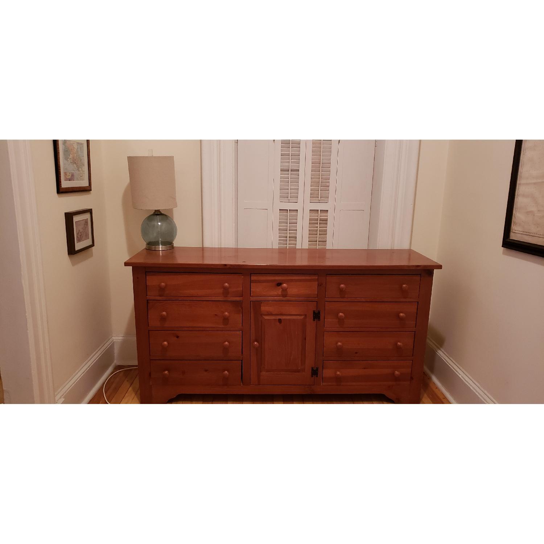 Shaker-Style 6-Drawer Bureau