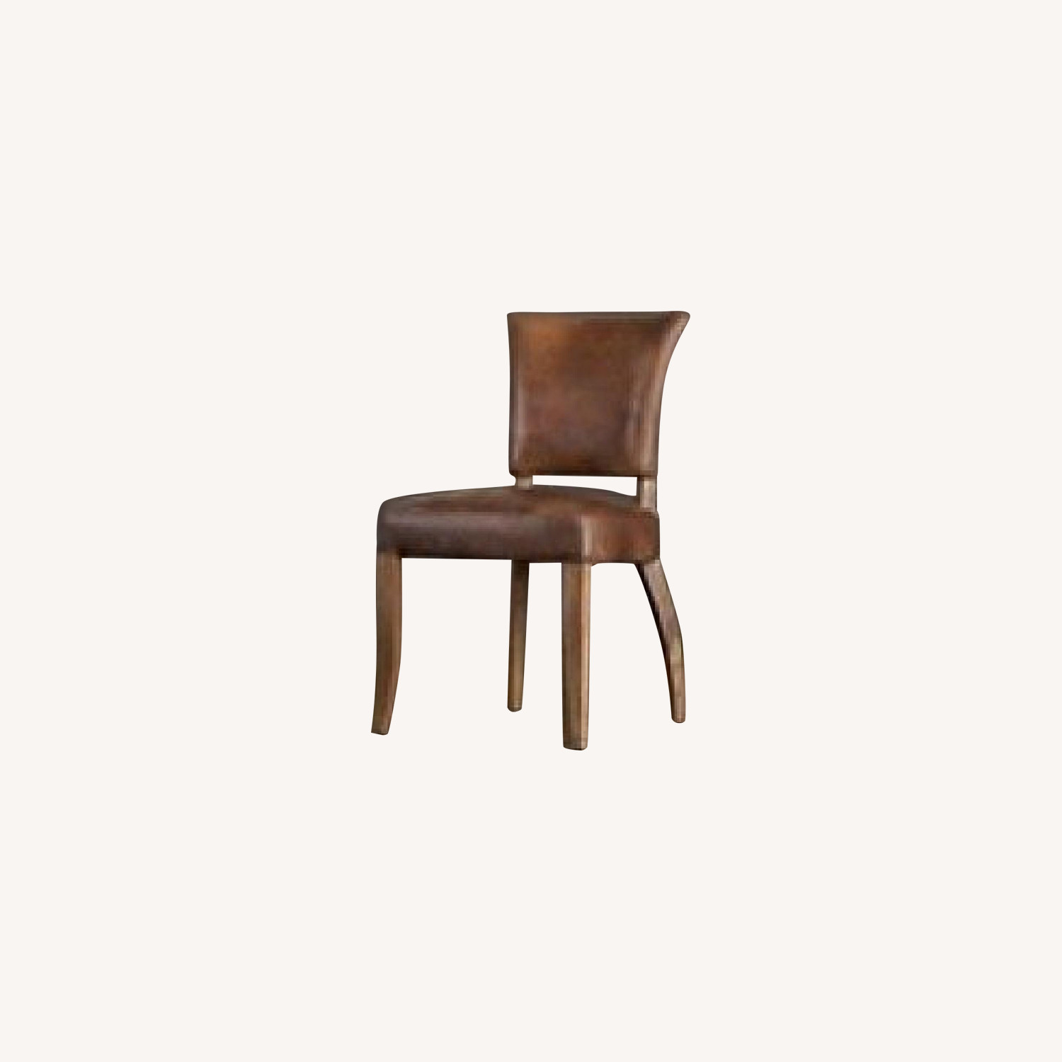 Restoration Hardware Adle Leather Side Chair