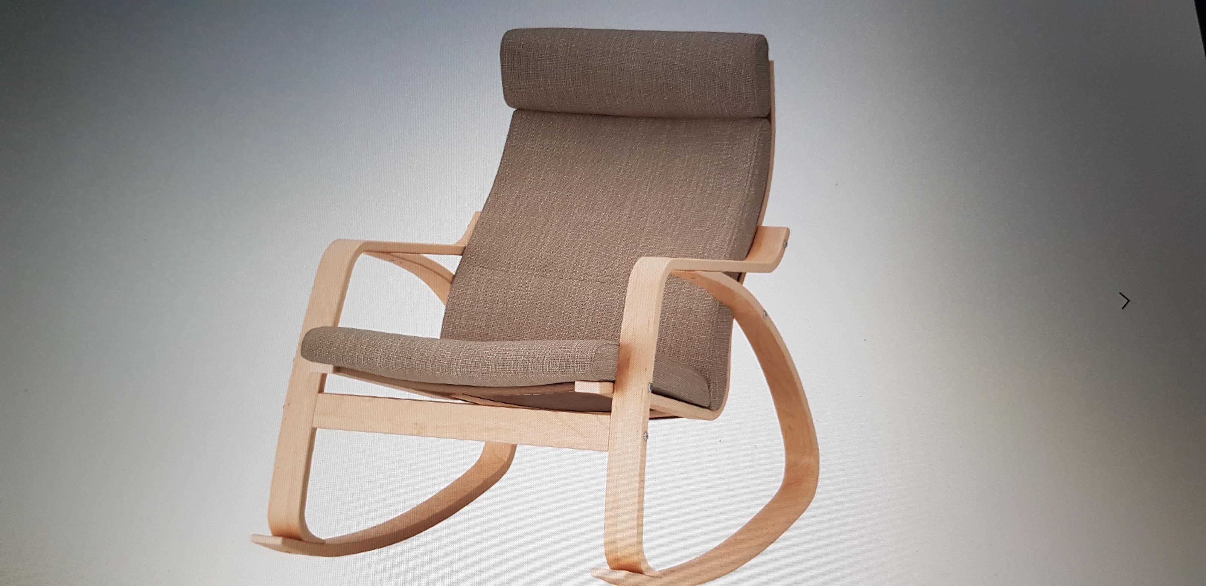 Ikea Poang Rocking Chair Aptdeco