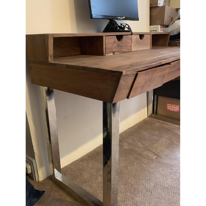 Four Hands Solid Wood Tier Desk - image-1