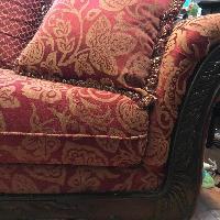 Serta Upholstery Momentum Magenta Sofa