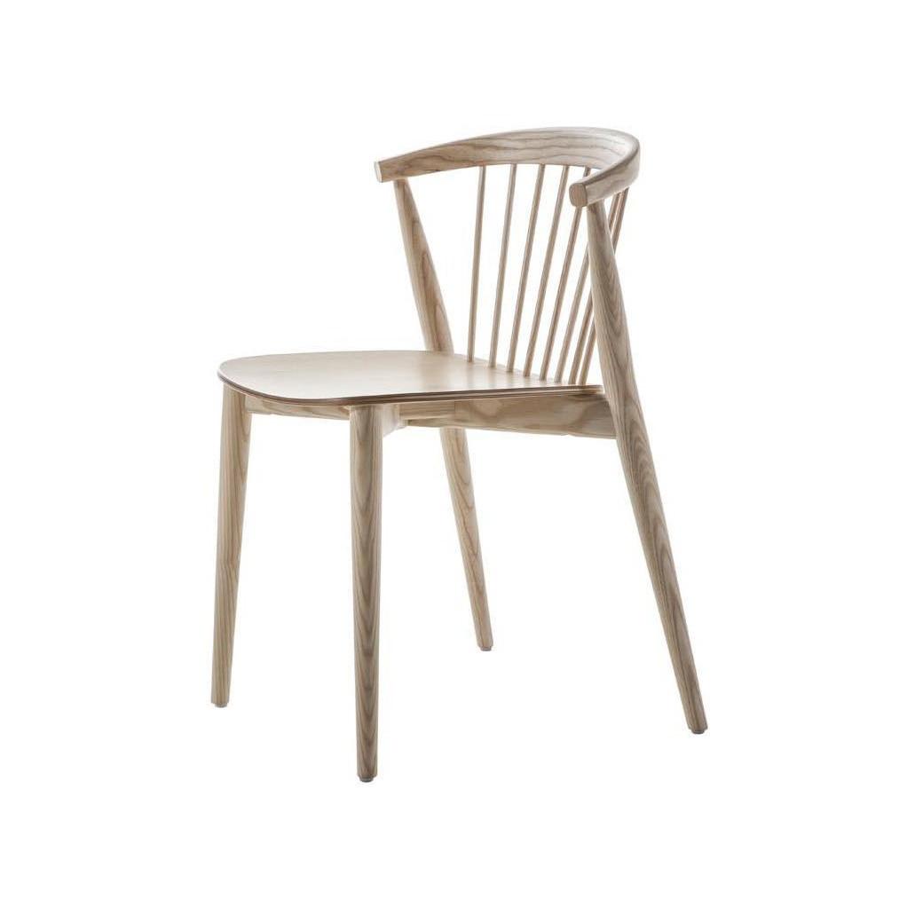 Cappellini Newood Ashwood Side Chair w/ Stick Back