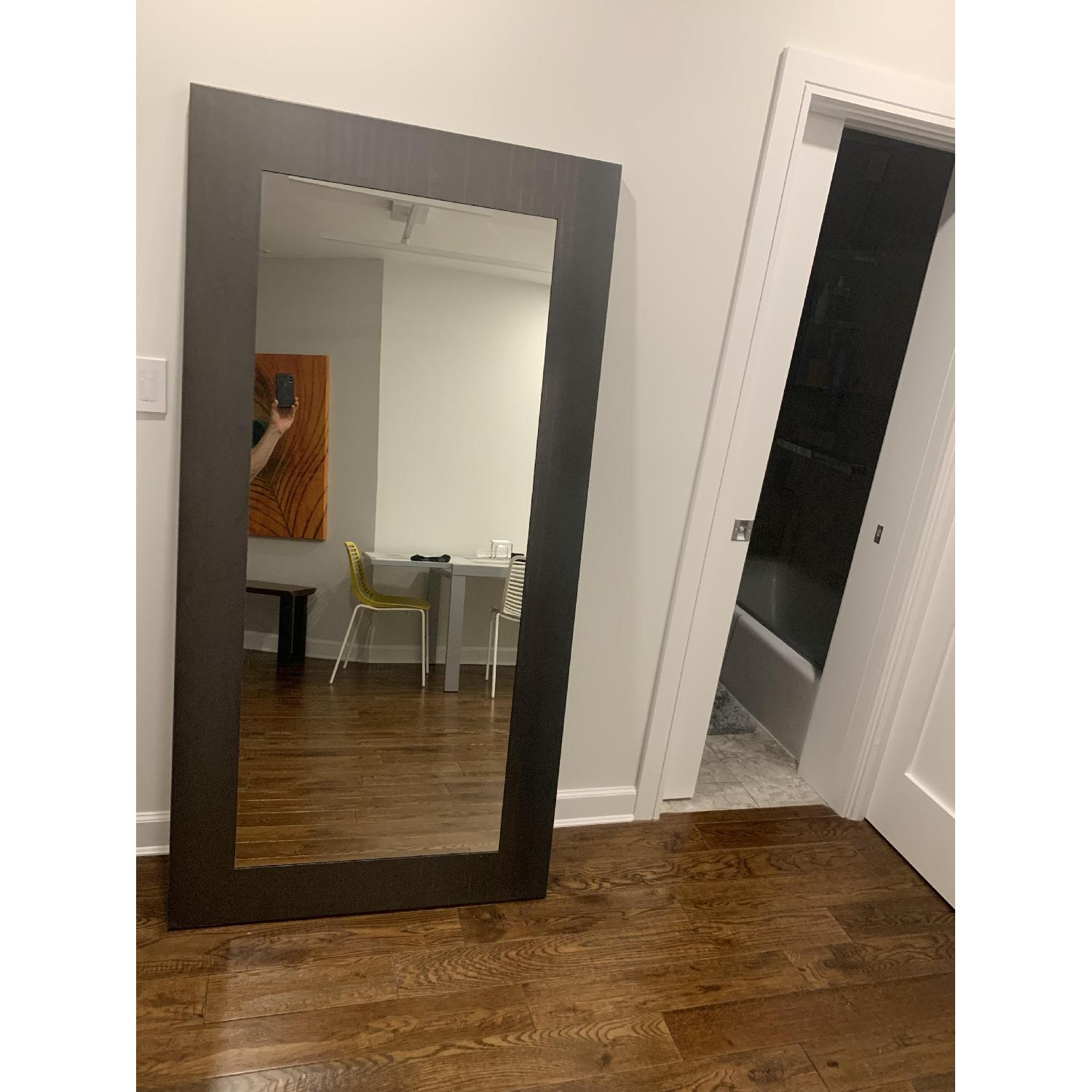 Room & Board Manhattan Leaning Mirrors in Natural Steel - image-3