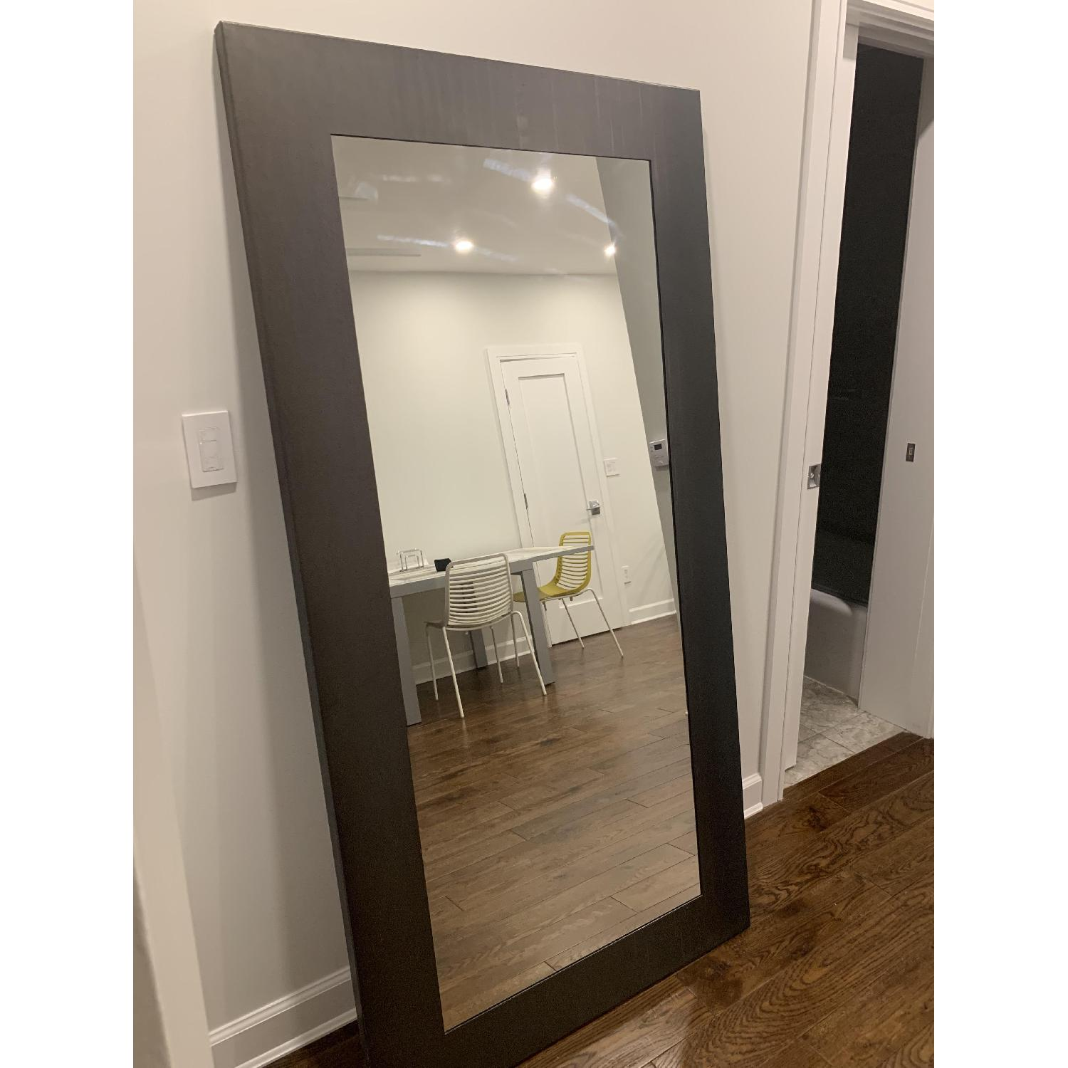 Room & Board Manhattan Leaning Mirrors in Natural Steel - image-2