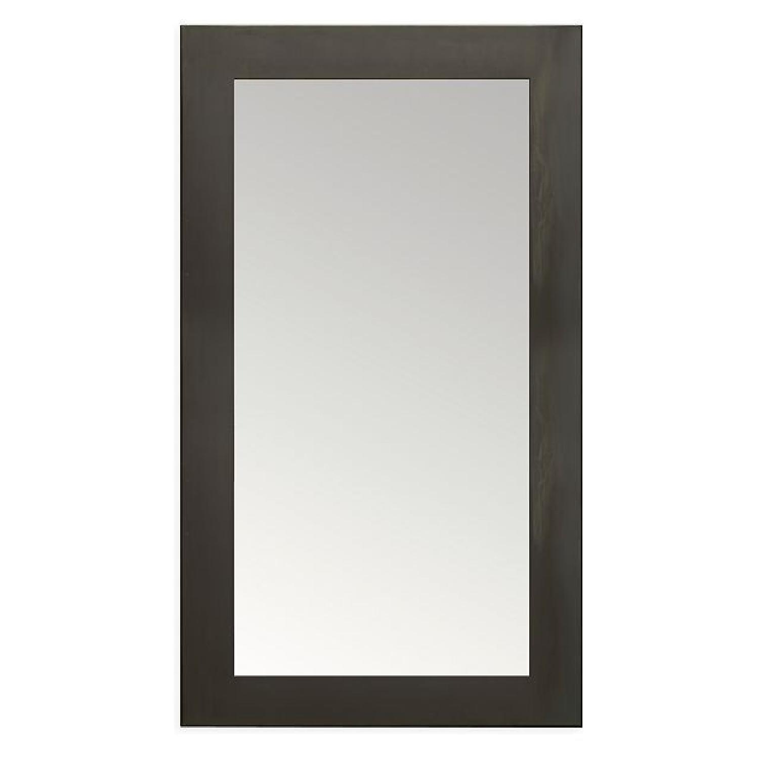 Room & Board Manhattan Leaning Mirrors in Natural Steel - image-0