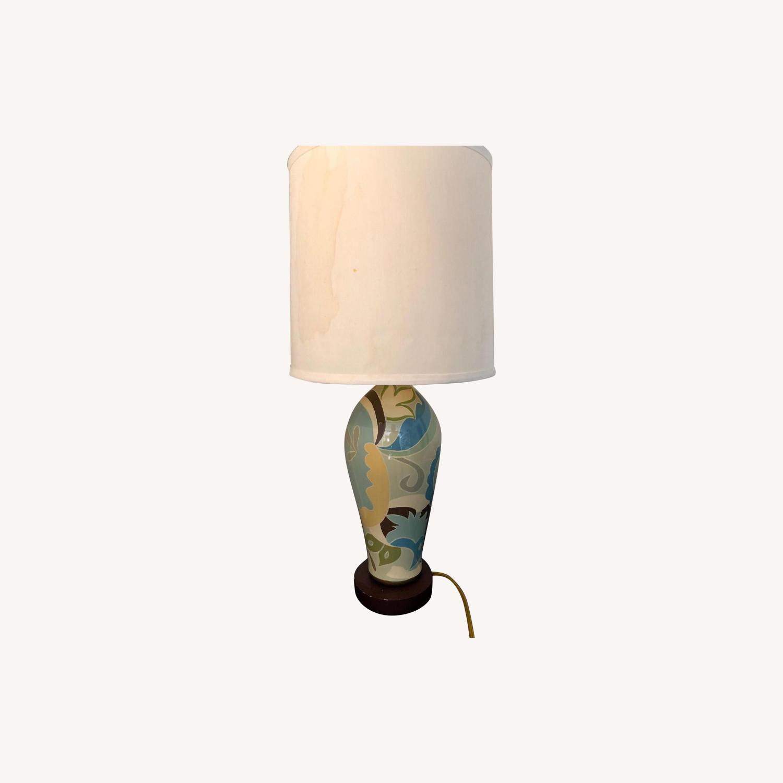 Jill Rosenwald ceramic lamp
