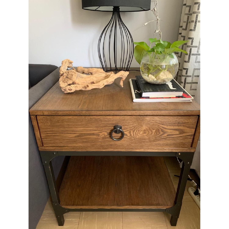 Birch Lane Heritage End Table w/ Storage - image-1