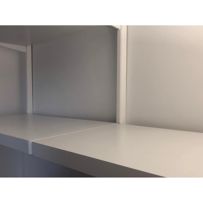 Elfa Decor Wall Mounted Shelf Unit Aptdeco