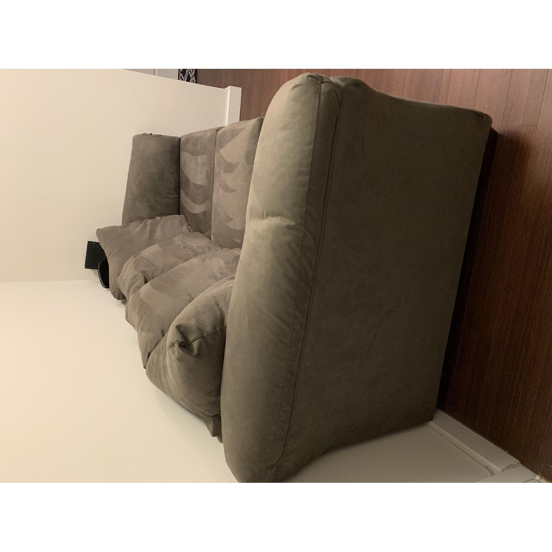 Value City Furniture Adrian Graphite Gray Sofa Aptdeco