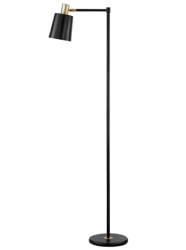 Retro Style Black & Gold Color Floor Lamp