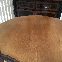 19th Century French Walnut Table