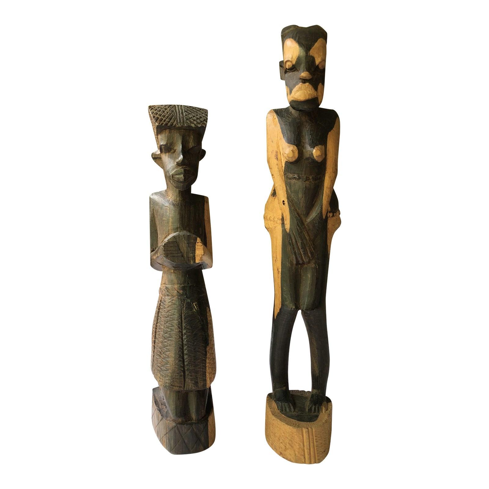 Vintage 1960s Tanganyikan Sculptures