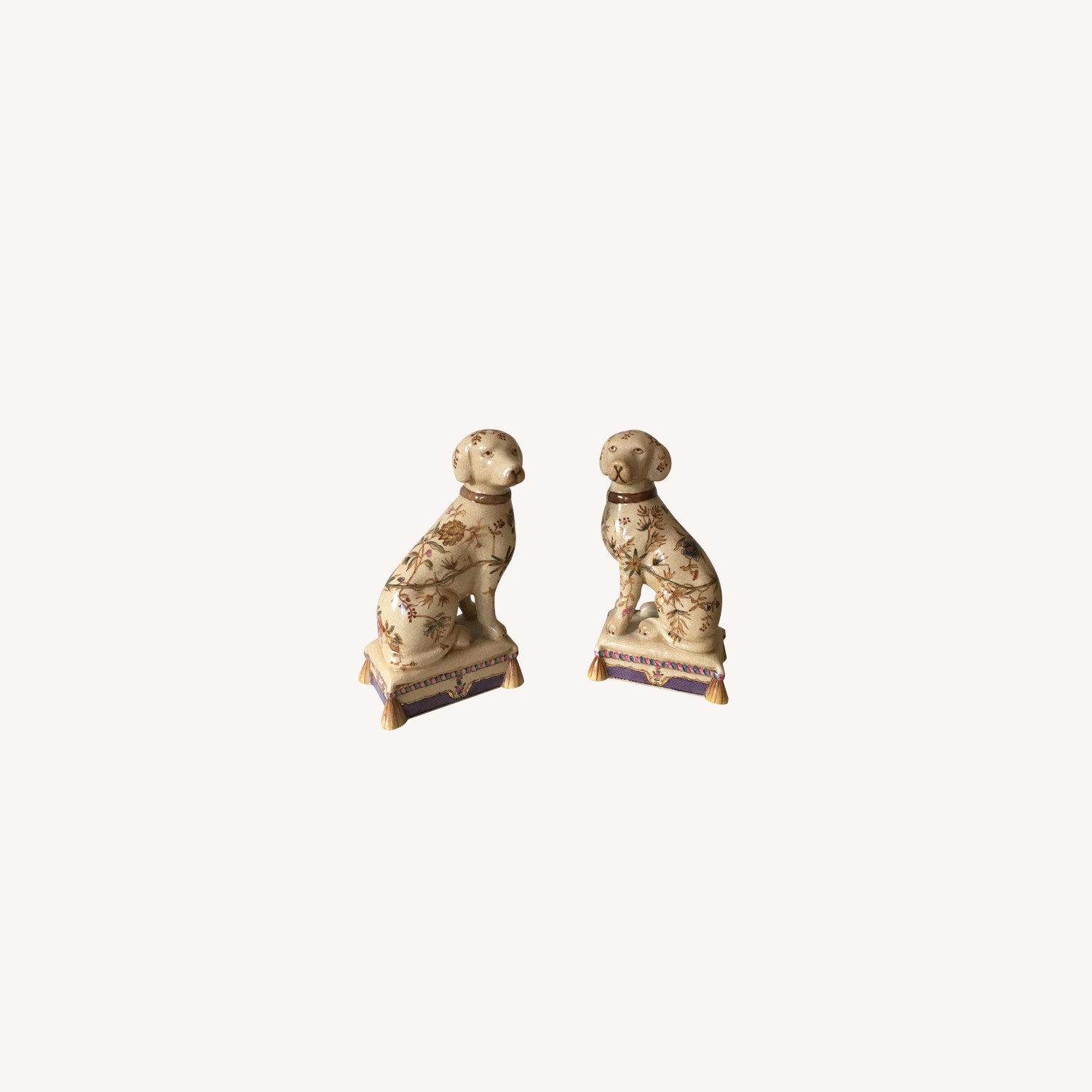 Dog Figurines/Bookends