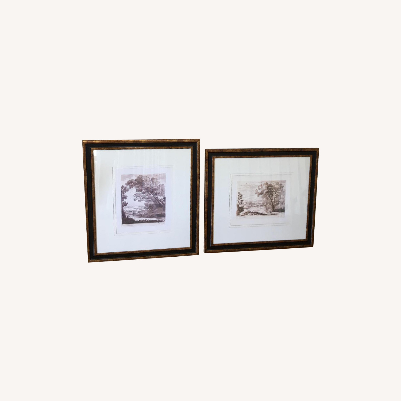 Claude De La Lorraine Framed Prints