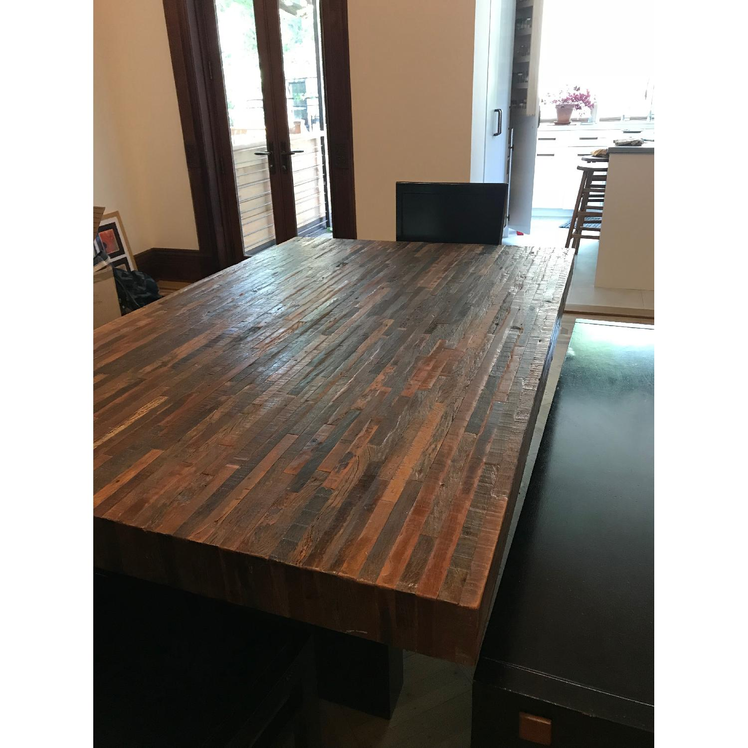 Environment Furniture Reclaimed Wood 5 Piece Dining Set - image-0