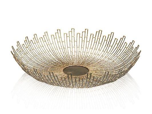Crate & Barrel Starburst Decorative Bowl