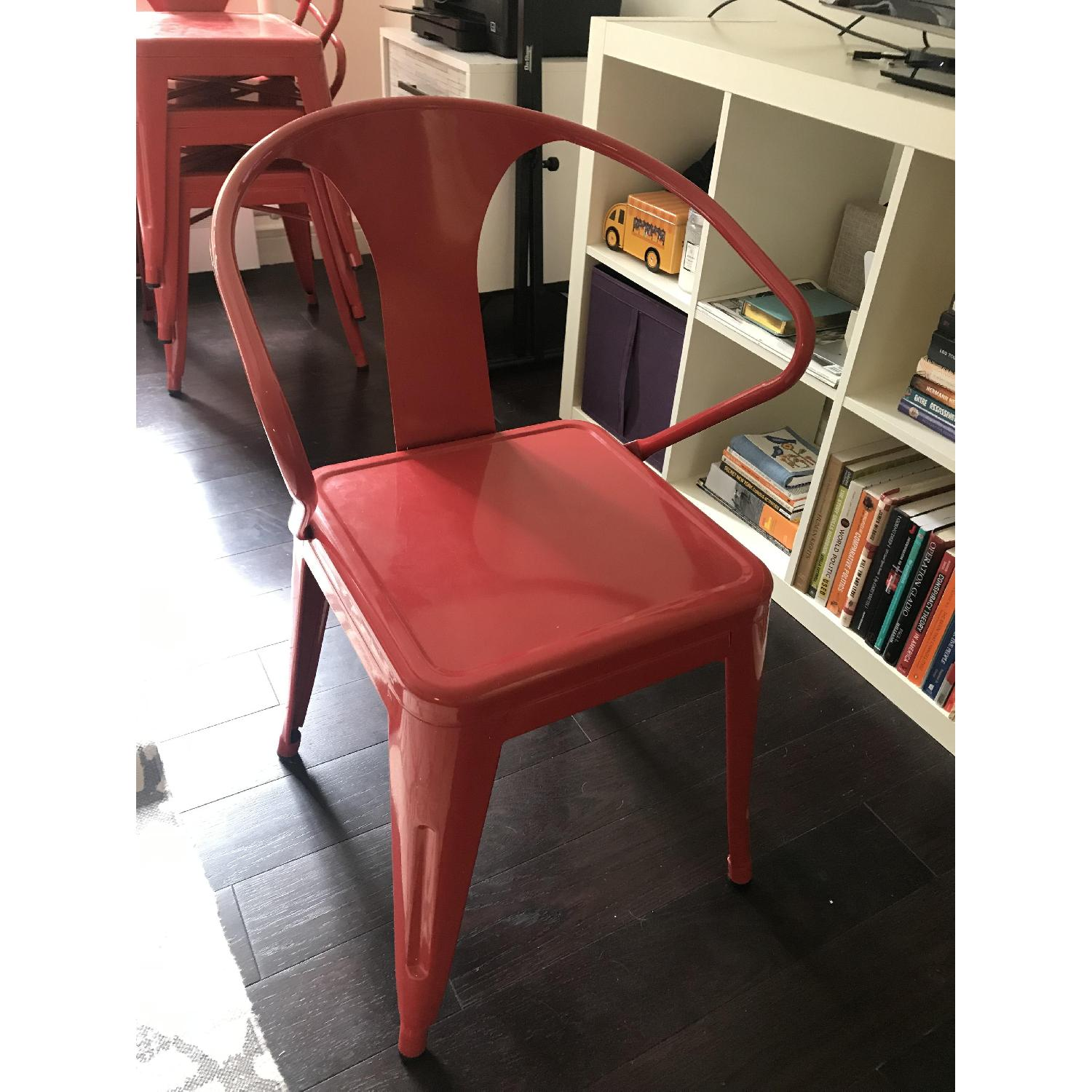 Red Stacking Chairs - image-3