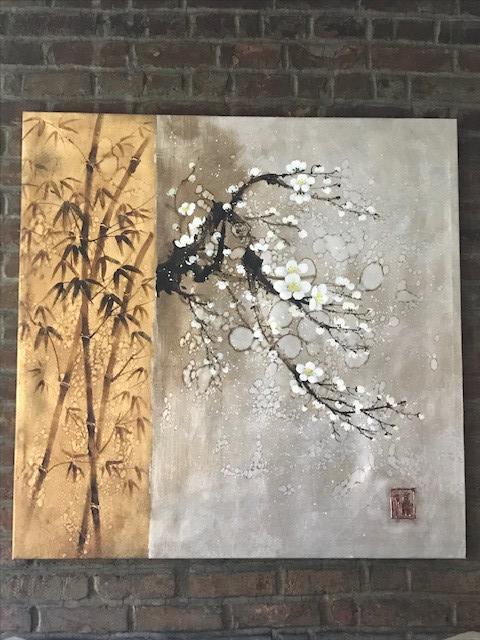 Asian Style Canvas Wall Art