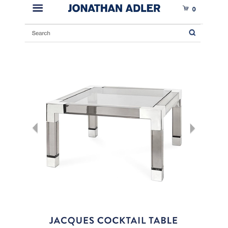 Jonathan Adler Acrylic Coffee Table - image-1