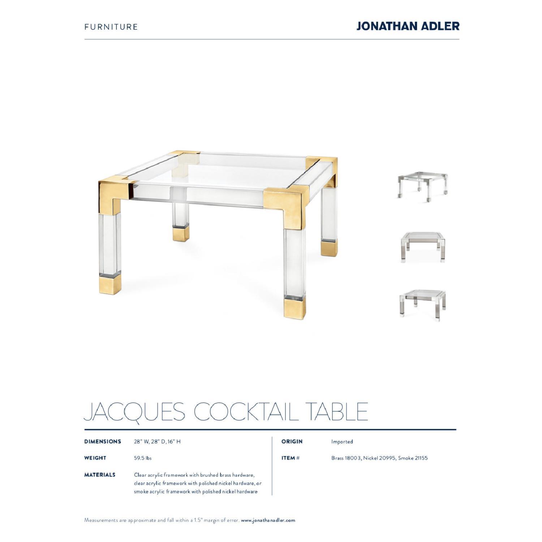 Jonathan Adler Acrylic Coffee Table - image-4