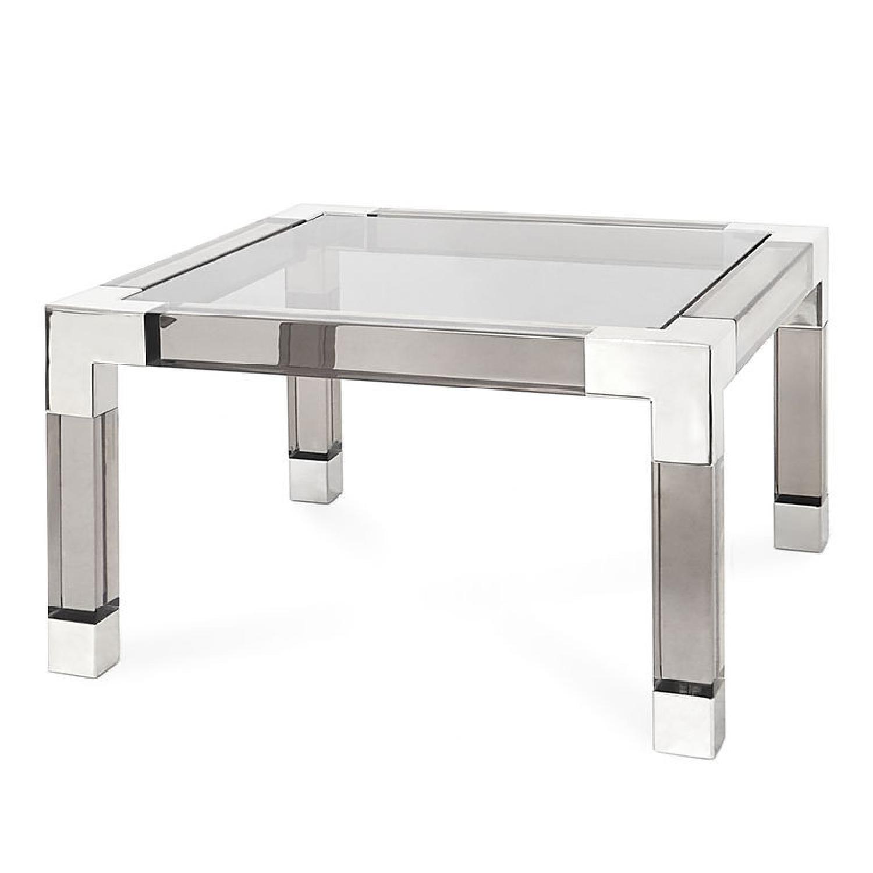 Jonathan Adler Acrylic Coffee Table - image-0