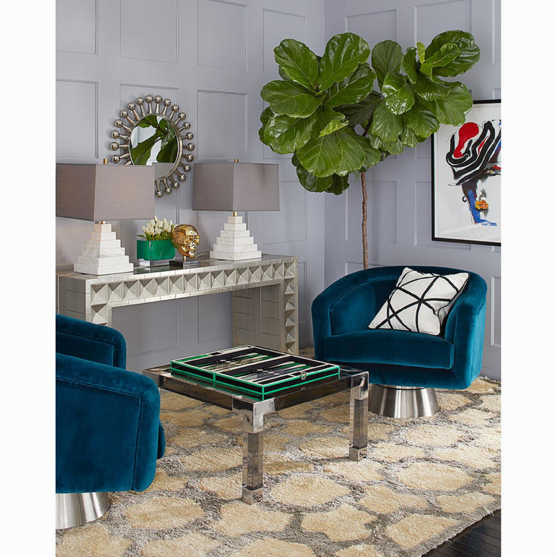 Jonathan Adler Acrylic Coffee Table - image-7