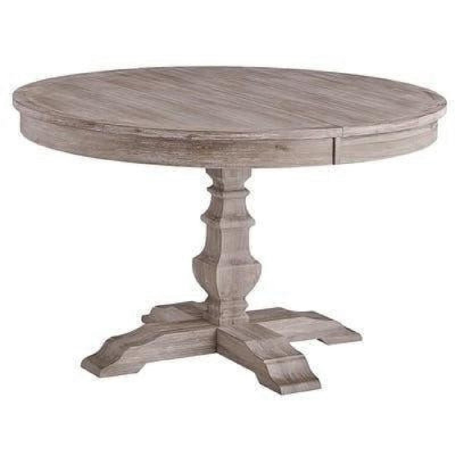 Pier 1 Bradding Expandable Round/Oval Dining Table