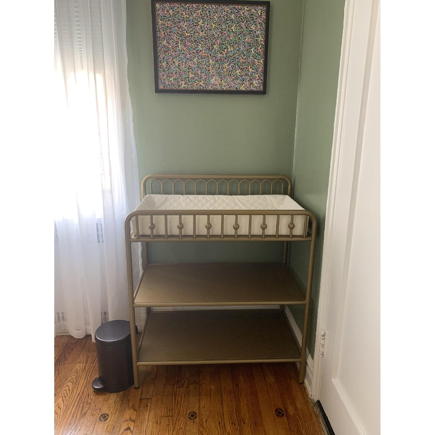 Little Seeds Monarch Hill Ivy Bronze/Gold Changing Table - image-2