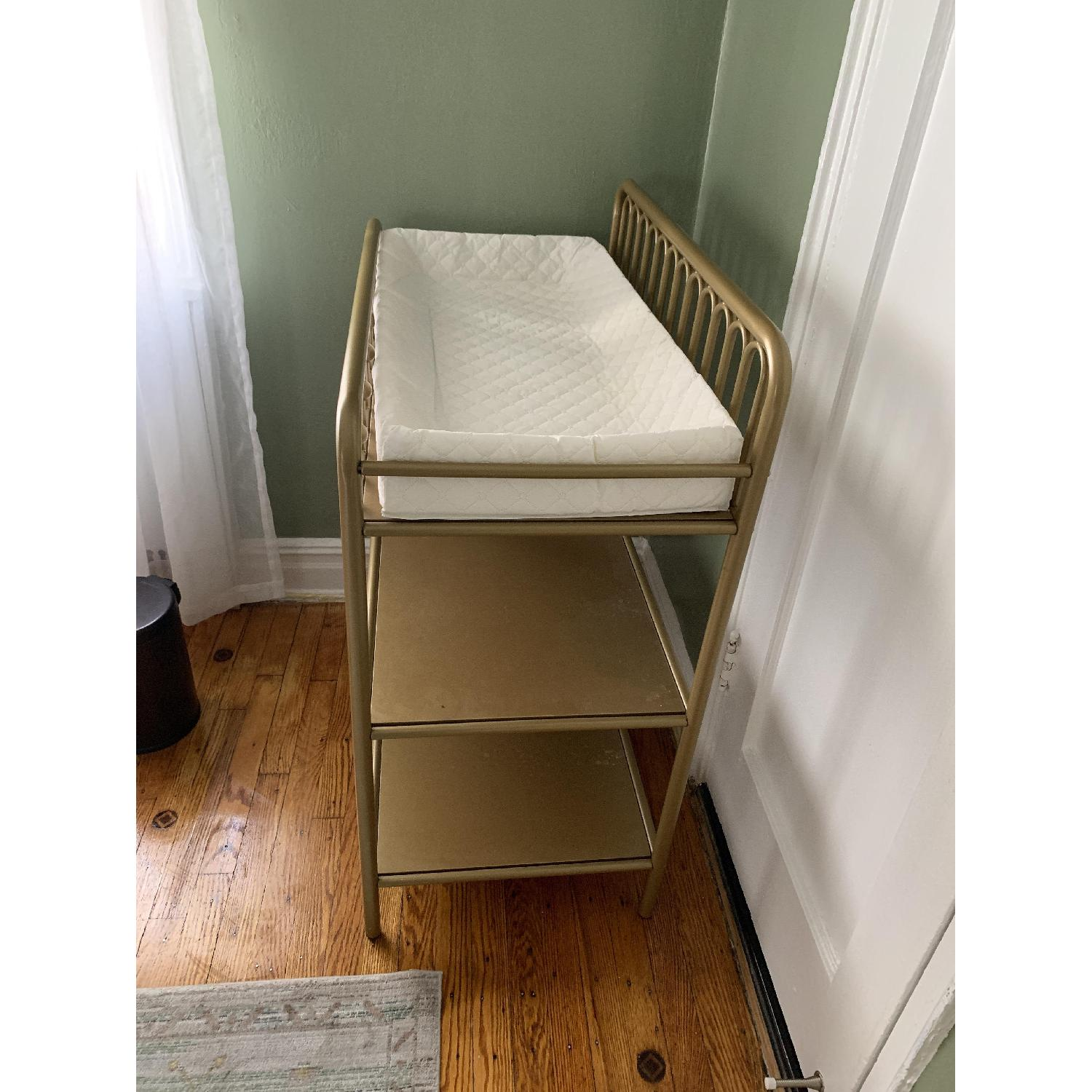 Little Seeds Monarch Hill Ivy Bronze/Gold Changing Table - image-3