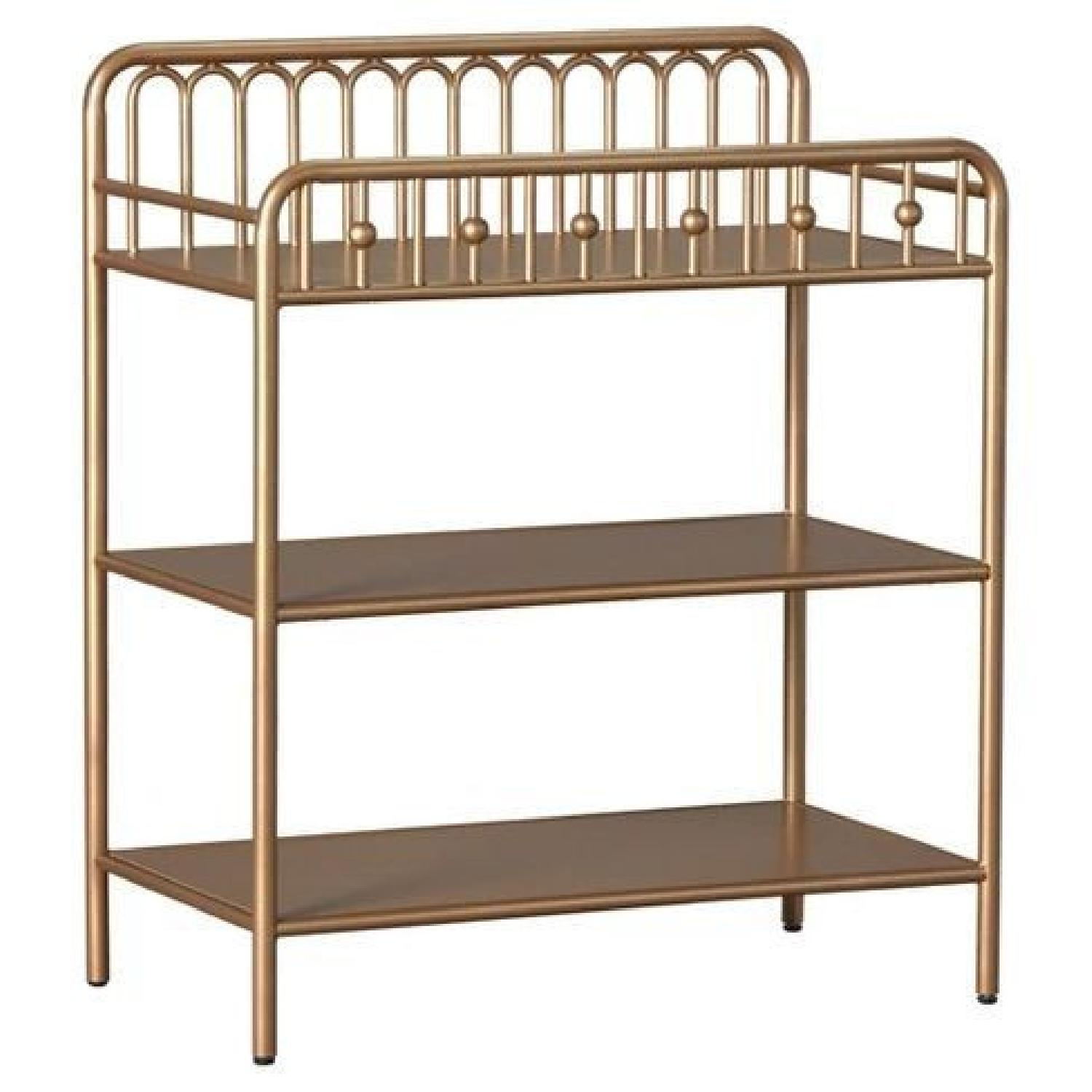 Little Seeds Monarch Hill Ivy Bronze/Gold Changing Table - image-0
