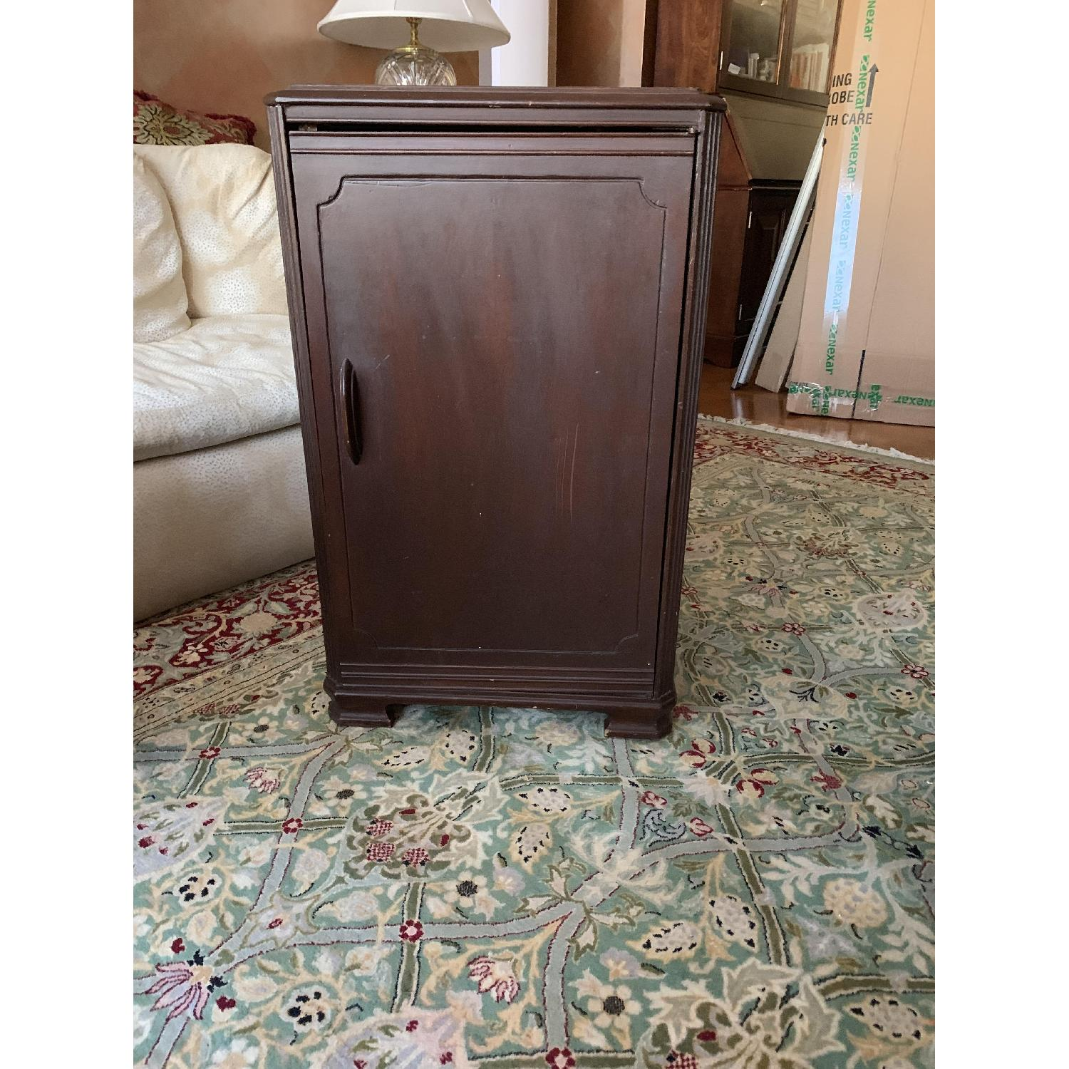 Wooden Victrola Stand/Cabinet - image-1