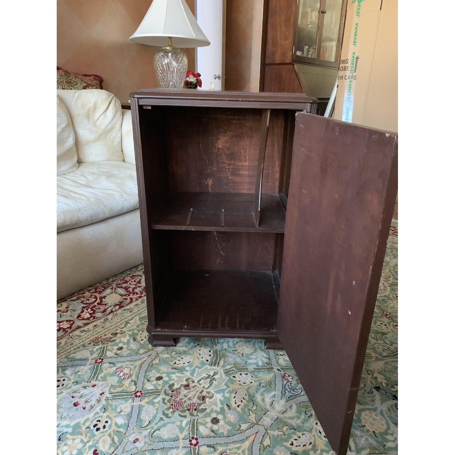 Wooden Victrola Stand/Cabinet - image-2