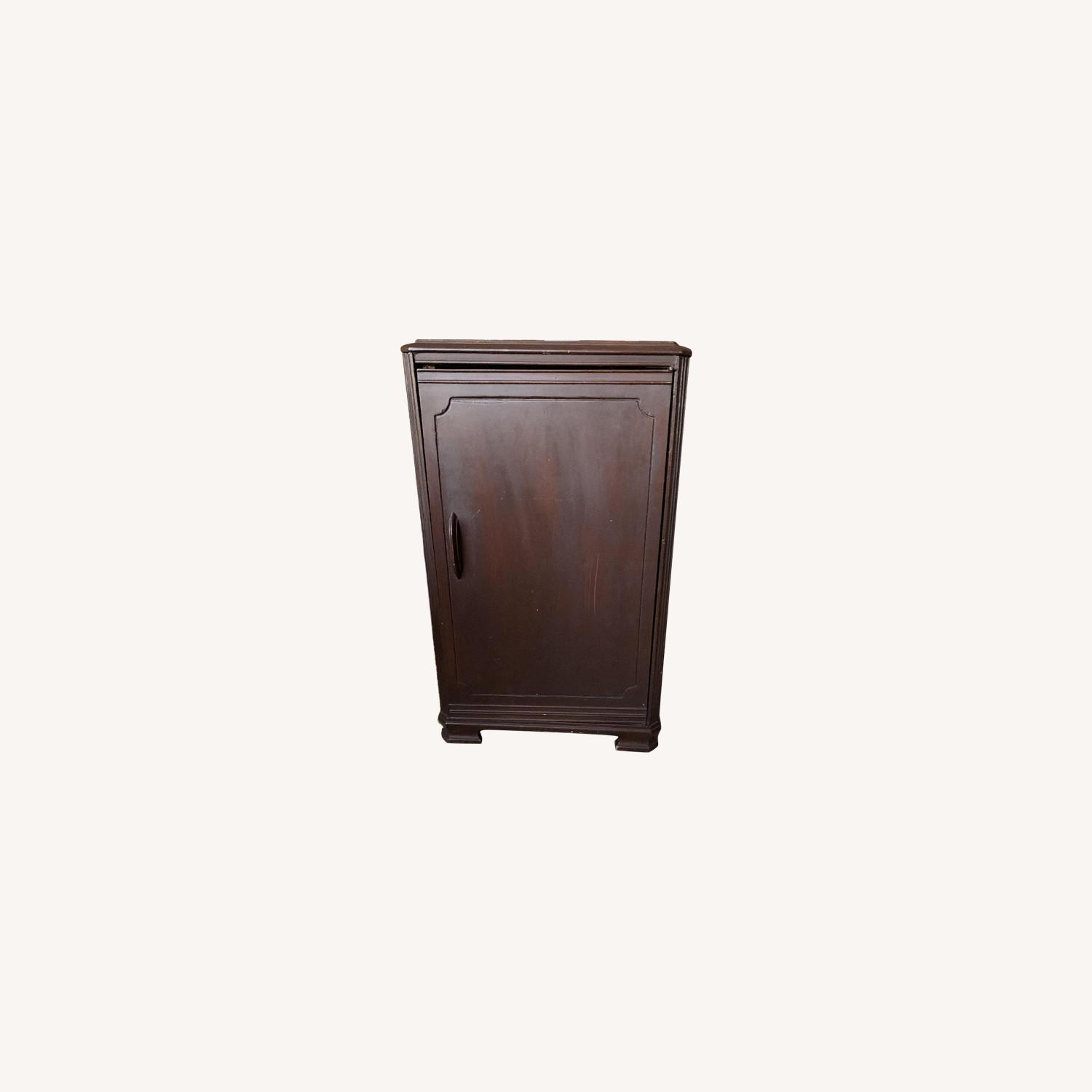 Wooden Victrola Stand/Cabinet - image-0